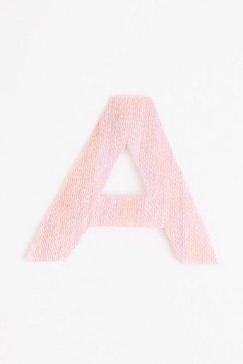 Thread Letter / Shape - pattern
