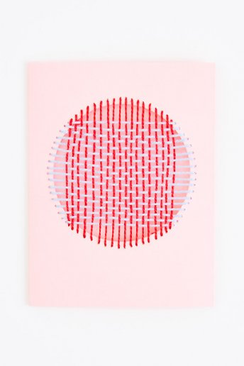 Woven Card - pattern