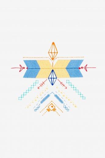 Ethnic Geometry - SCHEMA GRATUITO