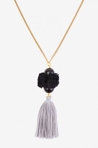 Pendant with Pompom and Tassel - pattern