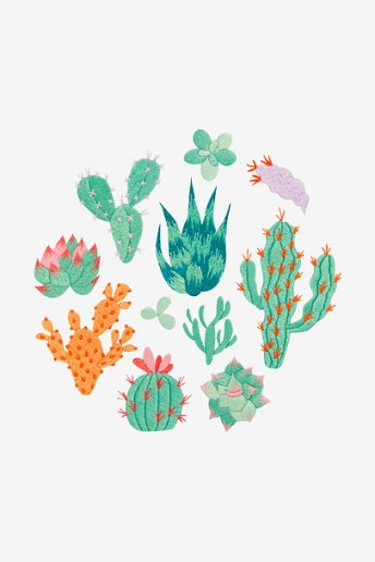 Cactus Collection - pattern
