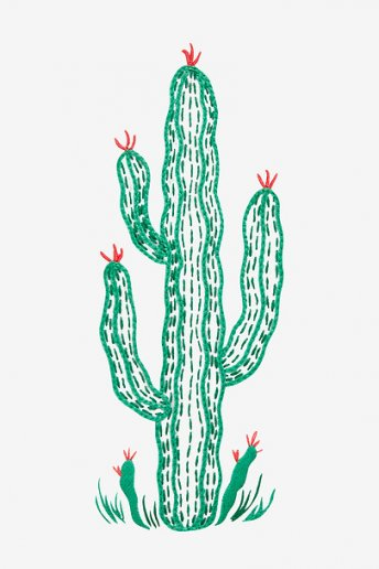 Giant Cactus - pattern