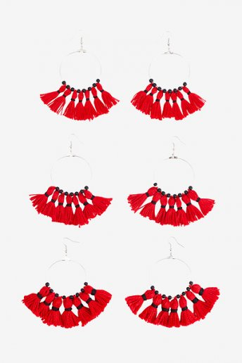 Fenel Earrings - pattern
