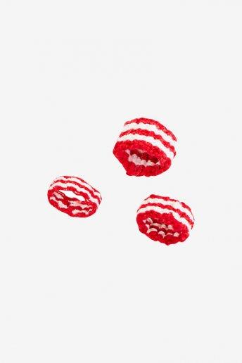 Anello a strisce rosse - SCHEMA GRATUITO