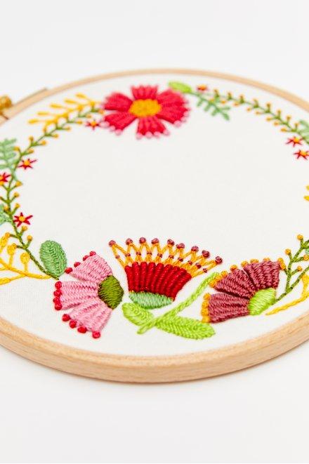 Autumn Flowers - pattern