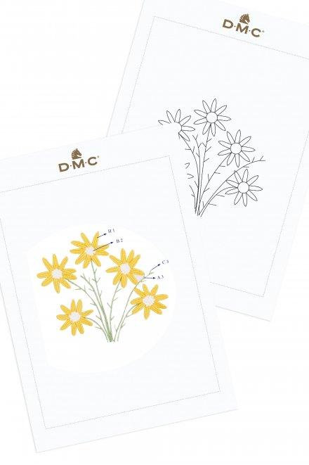 Wild Daisies - pattern