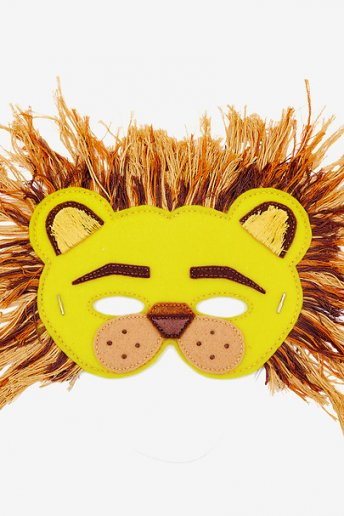 Lion Mask - pattern