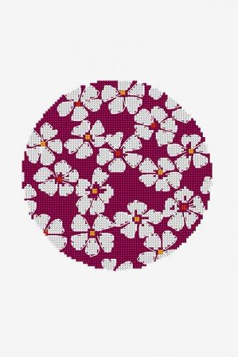 Cerchio floreale - SCHEMA GRATUITO