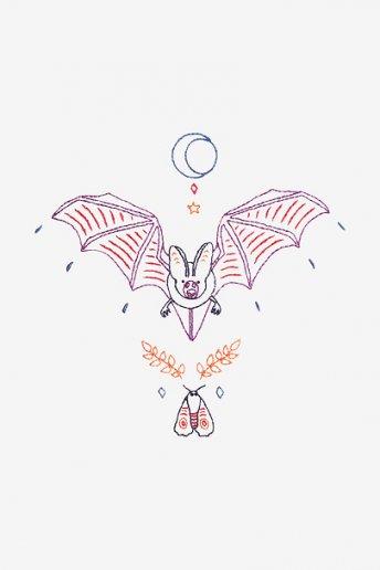 Pipistrello di Mezzanotte - SCHEMA GRATUITO