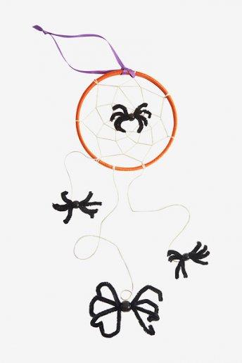 Attrape-rêves toile d'araignées - motif loisirs créatifs