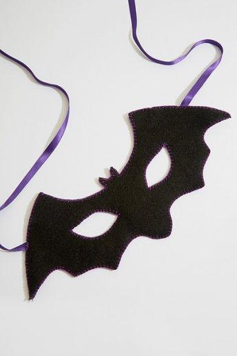 Masque chauve souris - motif loisirs créatifs