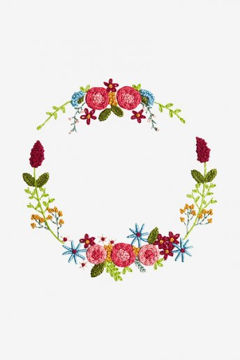Magical Wreath - pattern