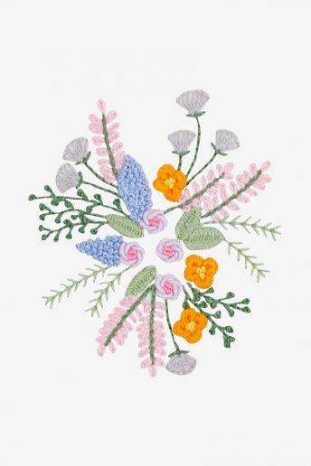 Wildflowers Bouquet - pattern