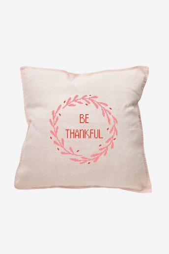 Be Thankful  - pattern