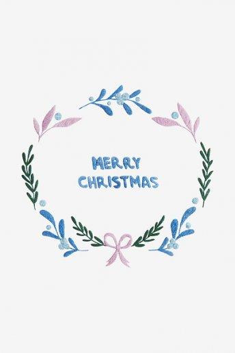 Merry Christmas - pattern