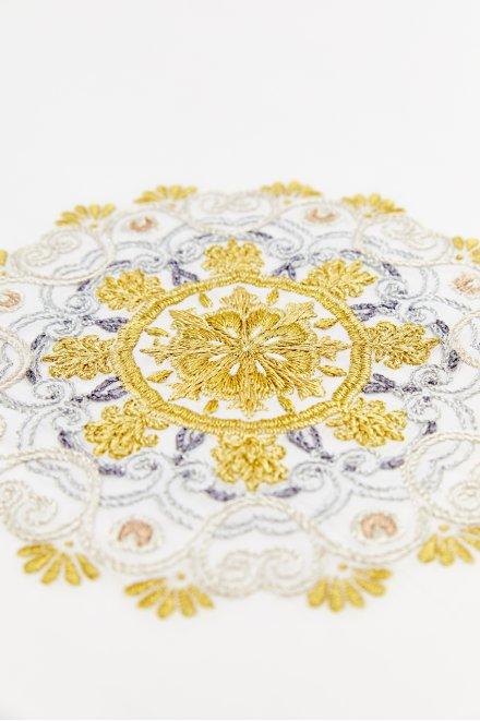 Mandala ouro e prata - ESQUEMA