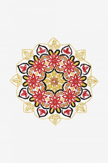 Flower Mandala - pattern