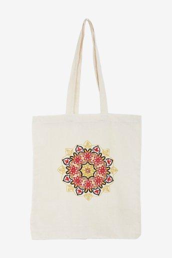 Mandala floral - ESQUEMA