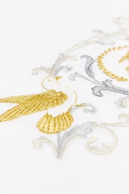 Bird and Arabesques - pattern