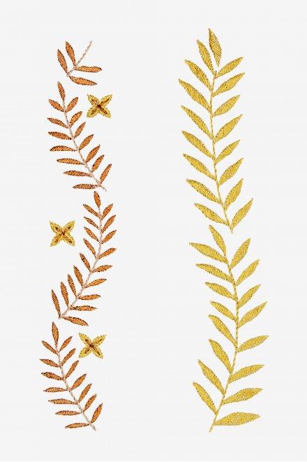 Botanical Borders - pattern