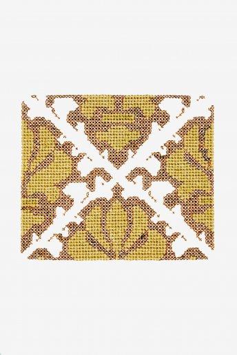 Cenefa ornamental - DIAGRAMA DE PUNTO CRUZ