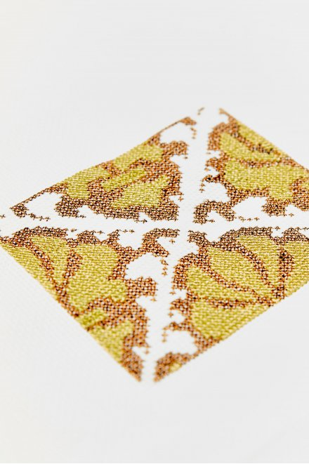 Frise ornementale - motif point de croix