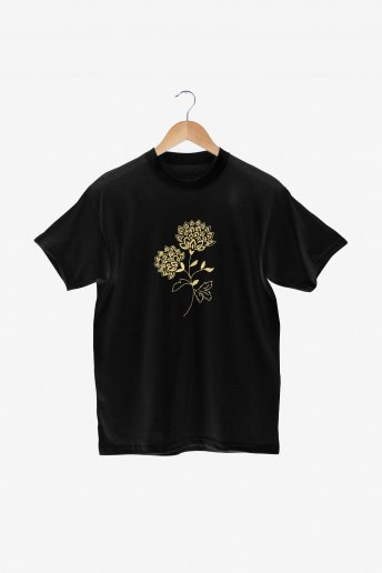 Fleur ornementale - motif broderie