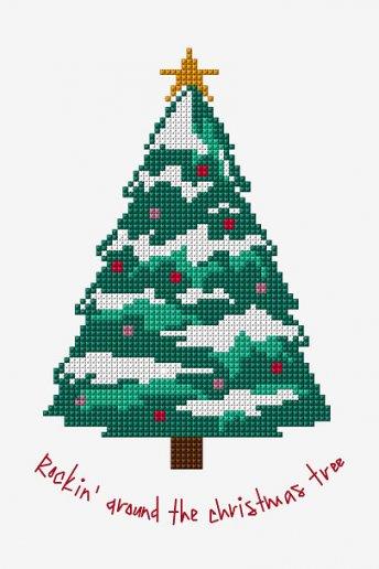 Rockin' Around The Christmas Tree - PATTERN