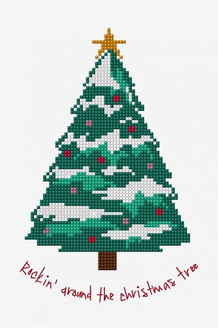 Rockin' Around The Christmas Tree - pattern - Free Cross Stitch Patterns
