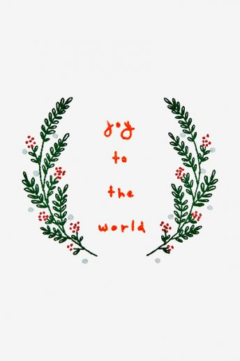 Joy To The World - PATTERN