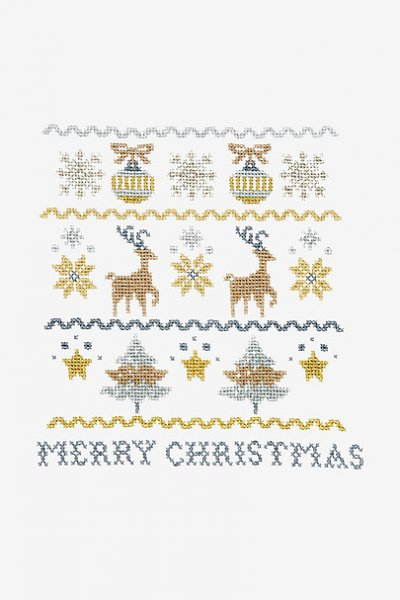SET OF 4 BOOKS with 60 MOTIFS CHRISTMAS MOTIFS FOR CROSS STITCH
