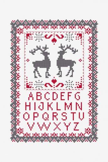 ABC Christmas Tale - pattern