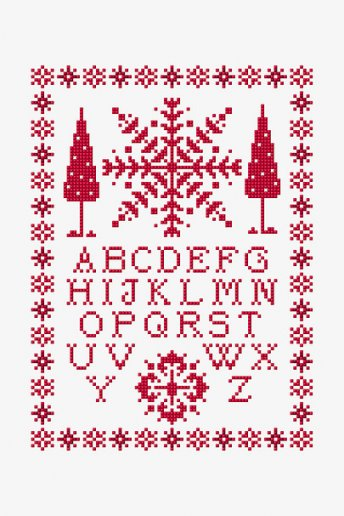 ABC Magic Christmas - pattern