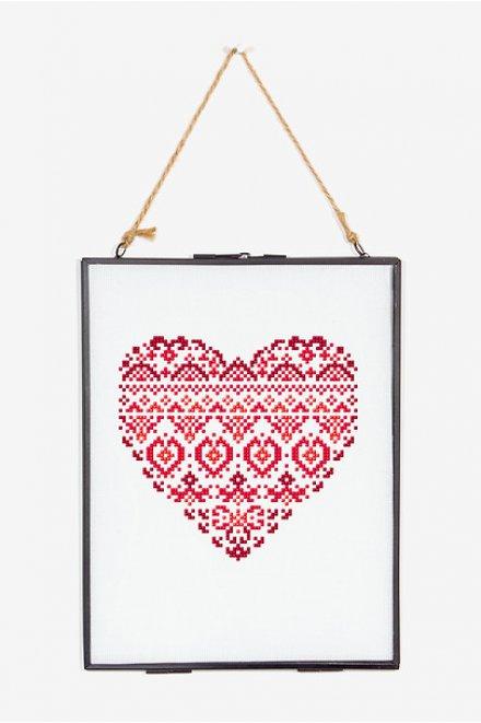 Heart - pattern - Free Cross Stitch Patterns