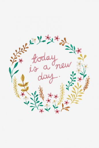 Today is a New Day - Anleitung
