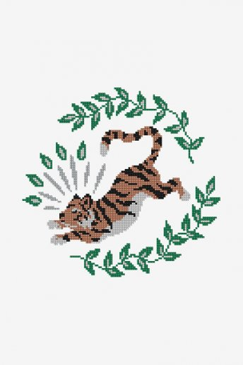 Tiger - pattern