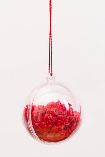 Leftover Thread Bauble - pattern
