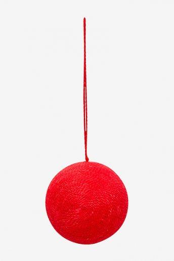 Boule recouverte de fils - motifs loisirs créatifs