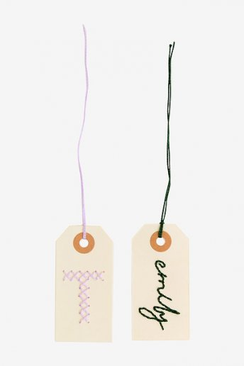 Stitched Label - pattern