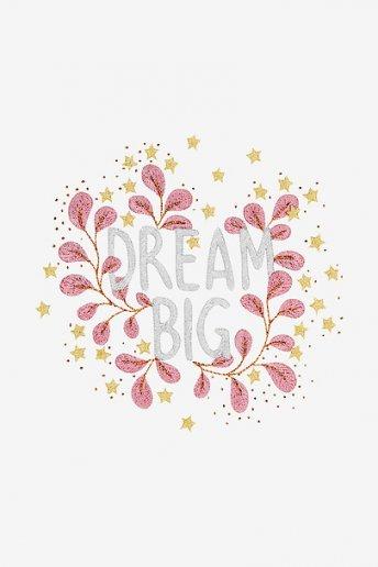 Dream Big - DIAGRAMA DE BORDADO