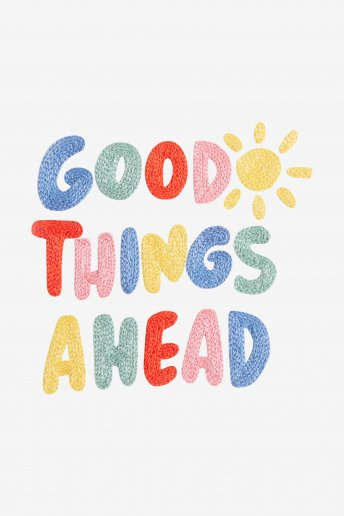 Good Things Ahead - pattern