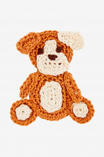Dog - motif crochet