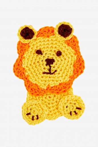 Lion - motif crochet