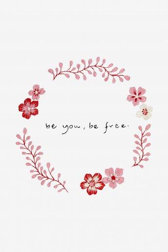 Be you, Be Free - SCHEMA GRATUITO