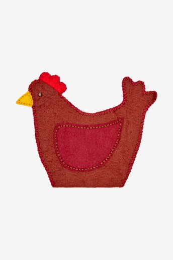Coquetier Poule - motif loisirs créatifs