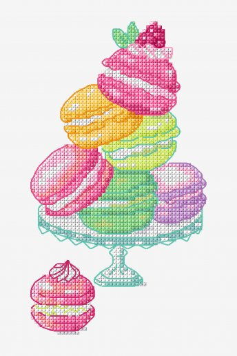 Macarons - patterns