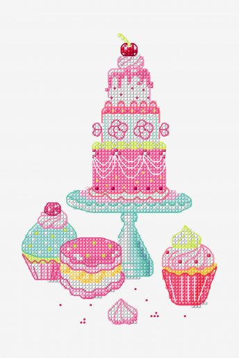 Wedding Cake - pattern