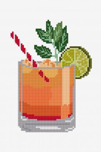 Fruit Punch - Punto de Cruz - DIAGRAMA