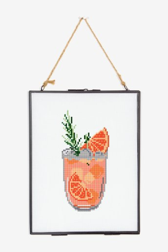 Grapefruit Spritz - Cross Stitch - pattern