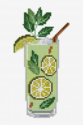 Mojito - Cross Stitch - pattern
